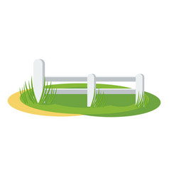 country fence vector image