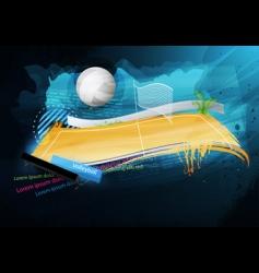 Grunge sport design vector
