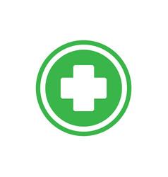 Medical health icon medicine hospital plus sign vector