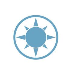 sun proemblem vector image