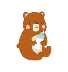 Bear head vector