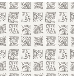 Patterned background in the style of Maya vector image vector image