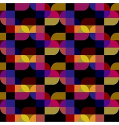 seamless abstract black pattern vector image vector image