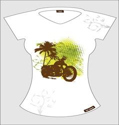 abstract T-shirt vector image