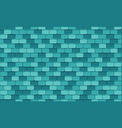 Blue rotiles seamless pattern vector