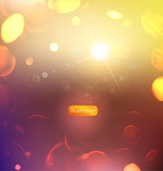 Soft abstract bubble background vector