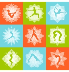 Yoga Design Concept vector image