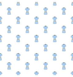 Men tennis uniforms pattern cartoon style vector image vector image