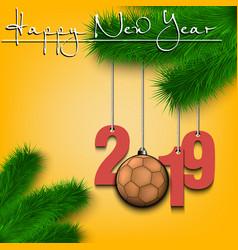 5940 - handball tree branch 2019 vector