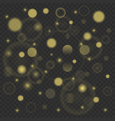 abstract golden glitters background vector image