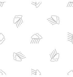 cloudburst pattern seamless vector image
