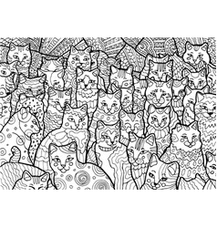 cyprus cats vector image