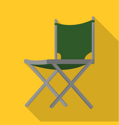 Design chair and folding sign set of vector
