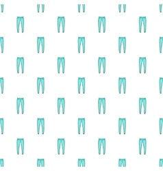 Men jeans pattern cartoon style vector