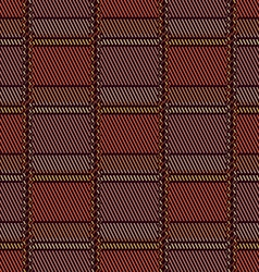 The pattern of colored squares vector image