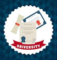 University emblem vector