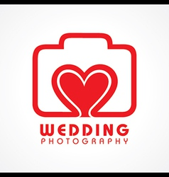 Wedding Photography Concept vector image