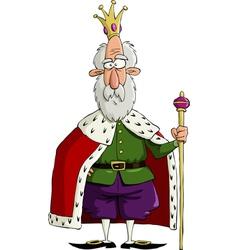 king vector image