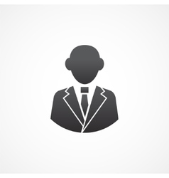 Business man icon vector image