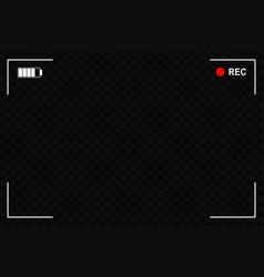 Camera focusing screen vector