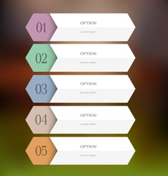 Design paper template vector