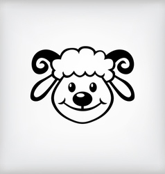 Lamb icon vector