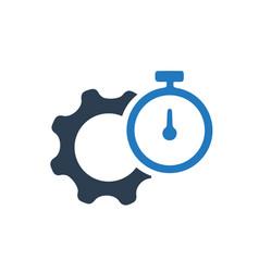 Performance efficiency icon vector