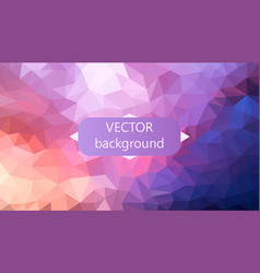 Polygonal background can be used in cover vector
