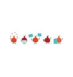 pomegranate symbols of jewish holiday rosh vector image