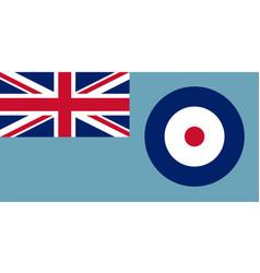 Royal air force ensign vector