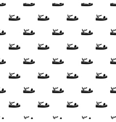 Sandal pattern simple style vector