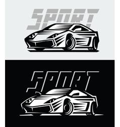 Sport cars emblem vector
