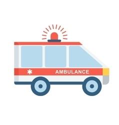 medical emergency car vector image vector image