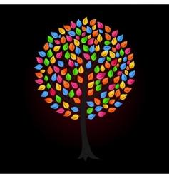 tree9 vector image vector image