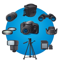 Photo devices vector