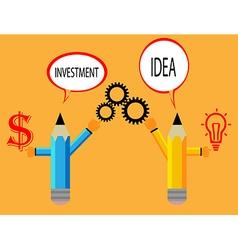 Business Concept pencil modern template vector