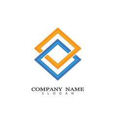 corporate icon vector image