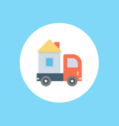 delivery icon sign symbol vector image