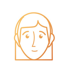 Face woman vector