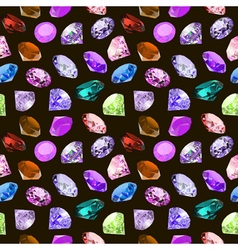 Seamless background with glittering vector