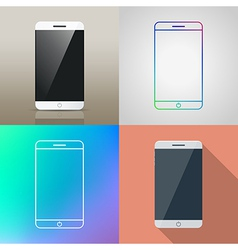 Set of Smartphone icon vector
