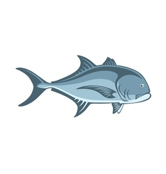 fish Caranx vector image vector image