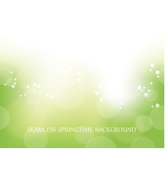 abstract springtime seamless background vector image