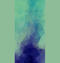 flat abstract triangle banner background vector image