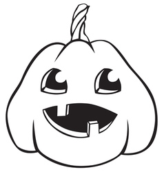 Pumpkin baby vector