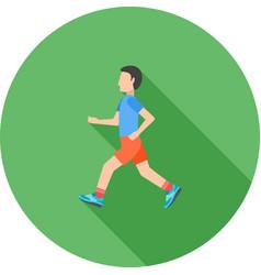 Running vector