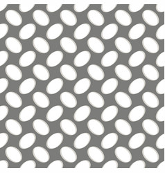 seamless geometric pattern perforated metal grill vector image