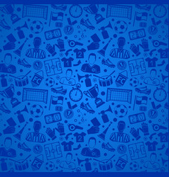 Soccer football seamless pattern vector
