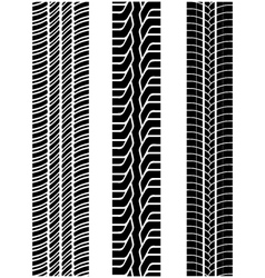 tread of cars 2 vector image