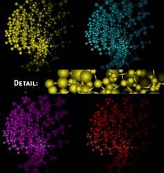 scientific design vector image